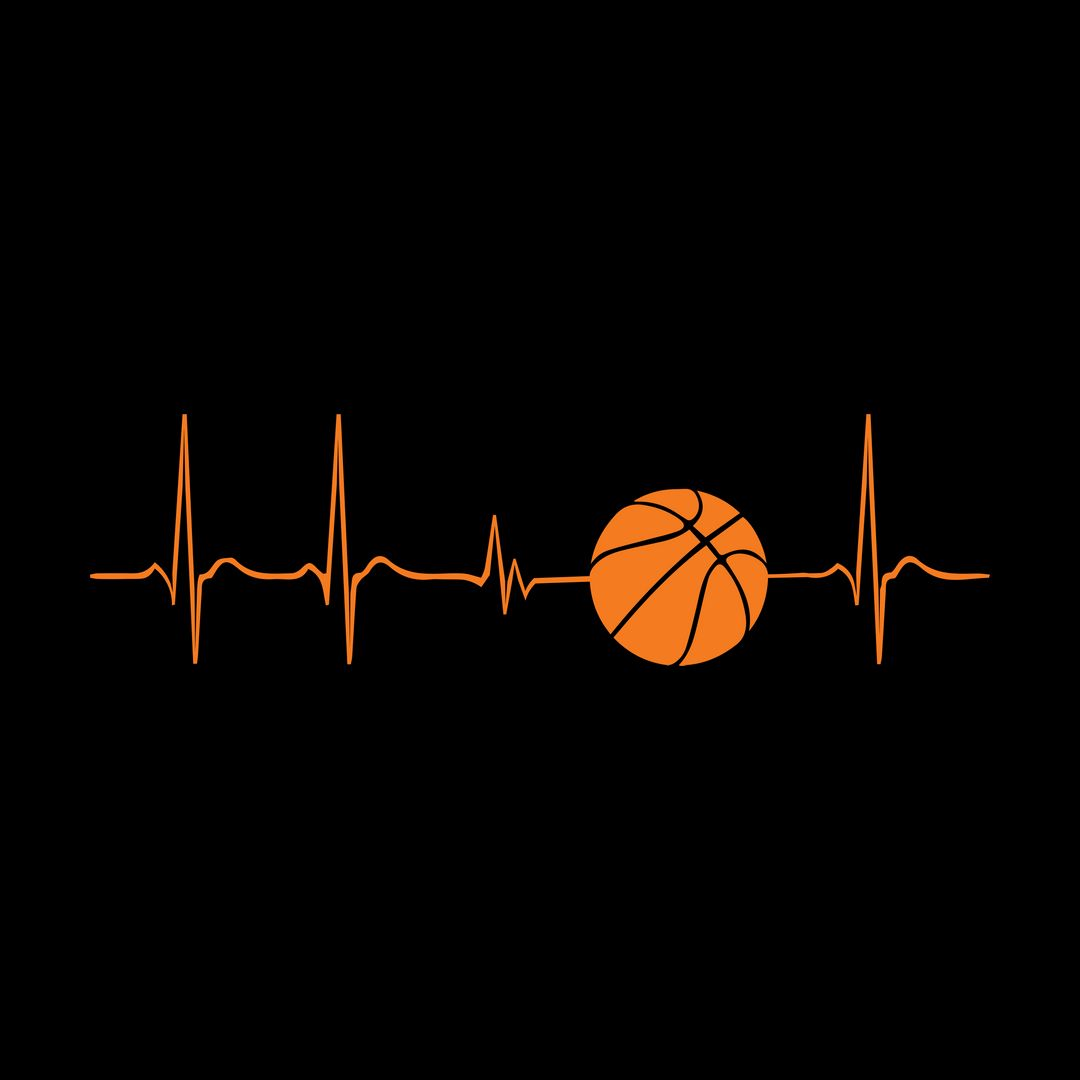 D6c2e622 Basketball Its In My Heartbeat Black