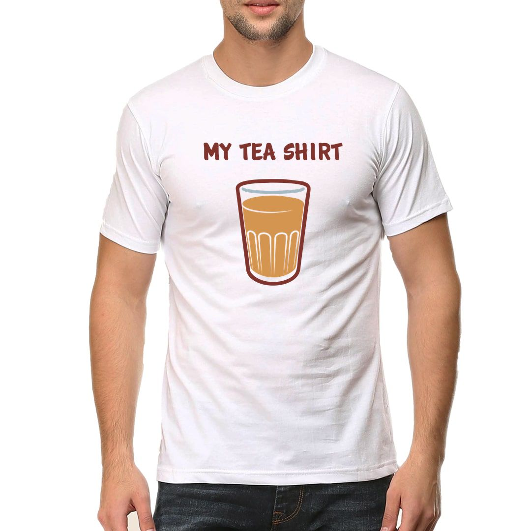 4add84ab My Tea Shirt Men T Shirt White Front