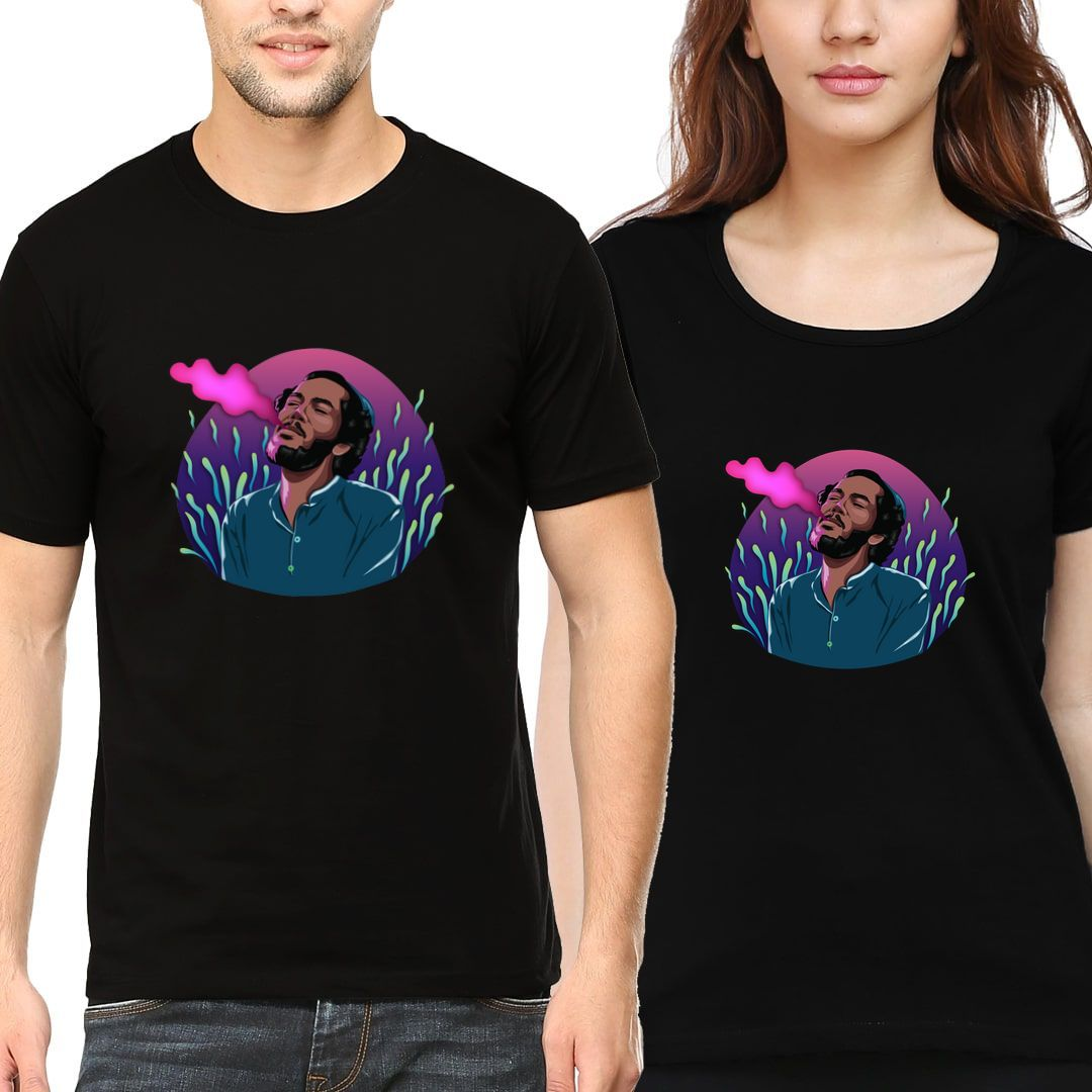 3c55fc54 Dont Think Too Much And Just Chill Couple T Shirts