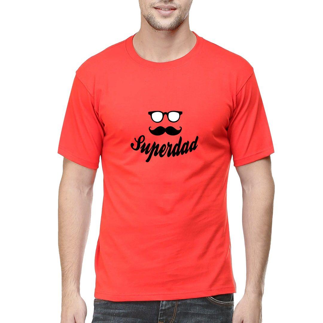 29c65556 Superdad Men T Shirt Red Front
