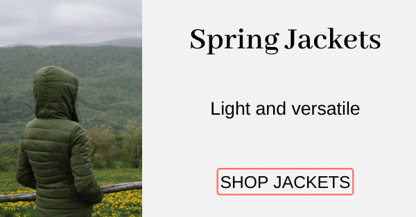 Spring Jackets Light and versatile [Shop Jackets]