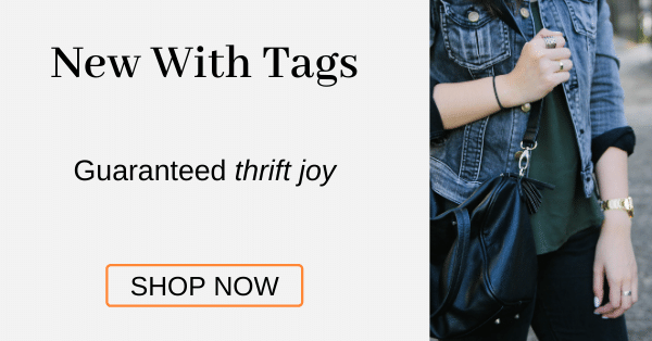 New With Tags Guaranteed thrift joy [Shop Now]