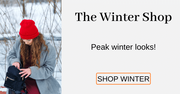 The Winter Shop Peak winter looks! [Shop Winter]