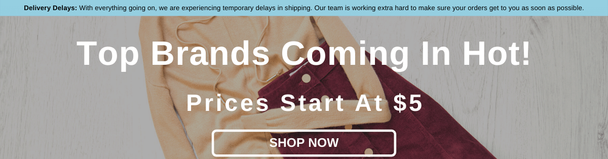Top Brands Coming In Hot! Prices Start At $5 [Shop Now]