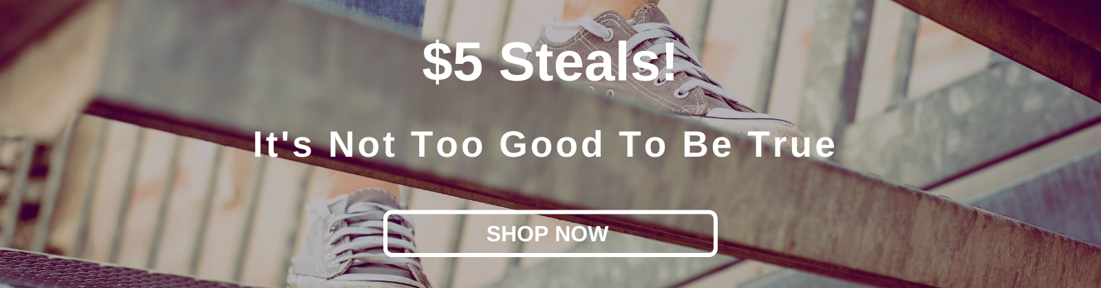 $5 Steals! It's Not Too Good To Be True [Shop Now]
