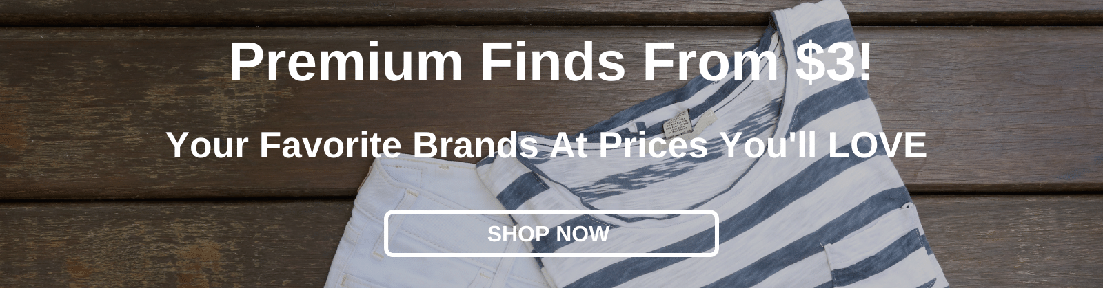 Premium Finds From $3! Your Favorite Brands At Prices You'll LOVE [Shop Now]