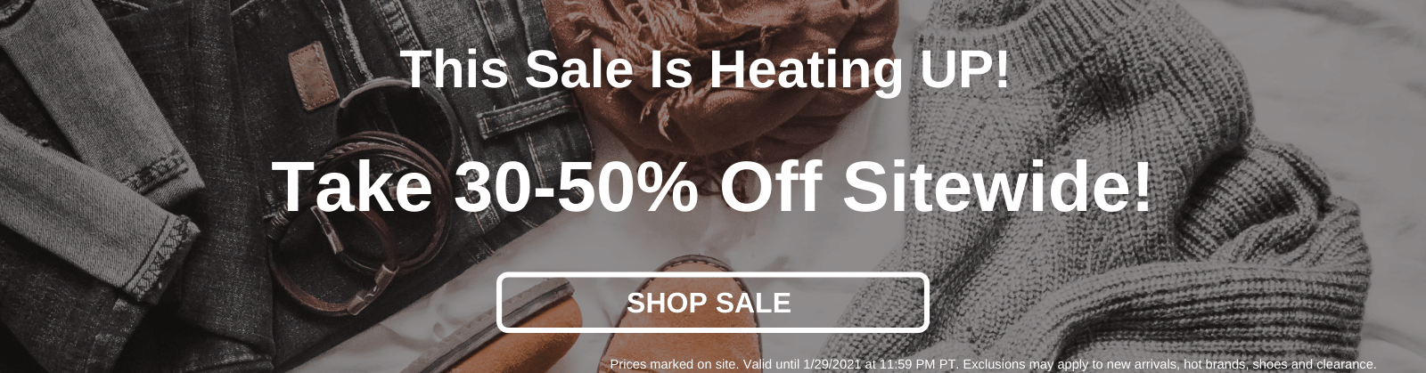 This Sale Is Heating UP! Take 30-50% Off Sitewide! [Shop Sale]