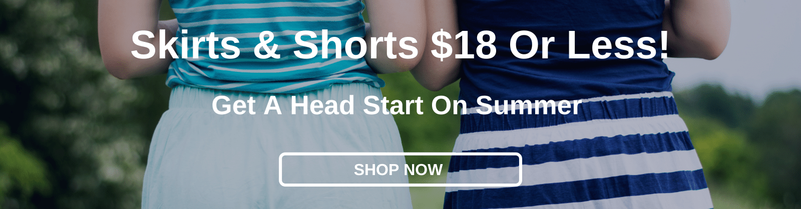 Skirts & Shorts $18 Or Less! Get A Head Start On Summer [Shop Now]