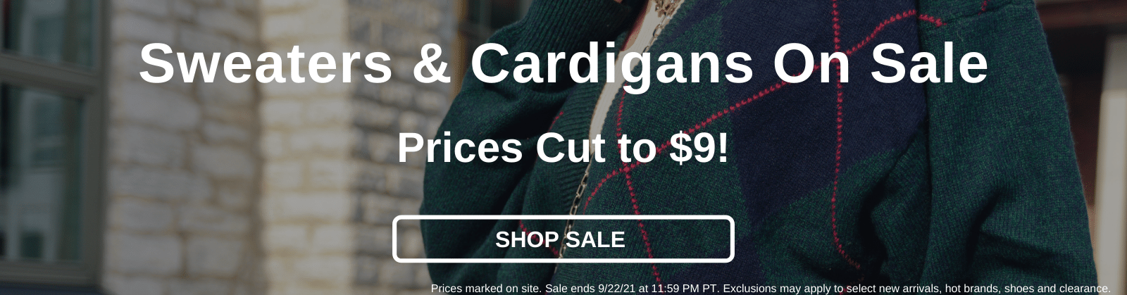 Sweaters & Cardigans On Sale Prices Cut to $9! [Shop Sale]
