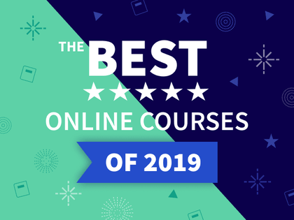 Rated in Class Central's Best Online Courses of 2019