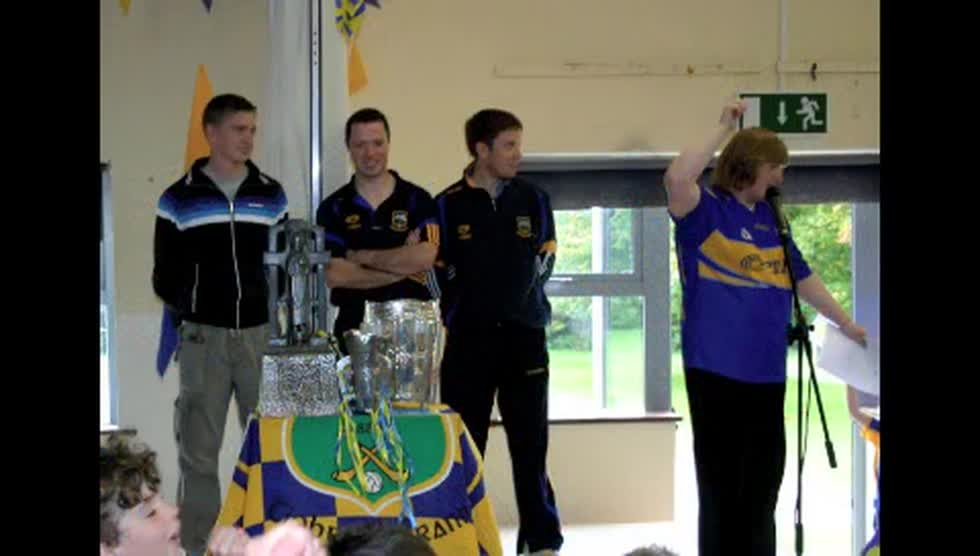 Visit of the Liam McCarthy Cup 2010