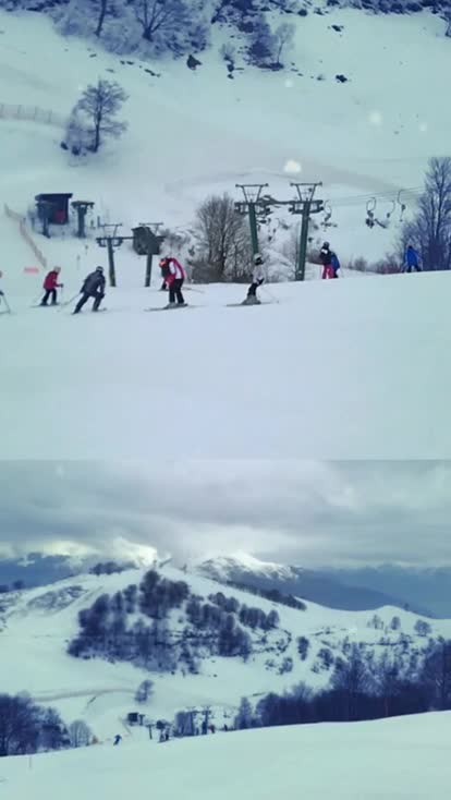 Varese 1   Mottarone ... I ski with my school friends HQ