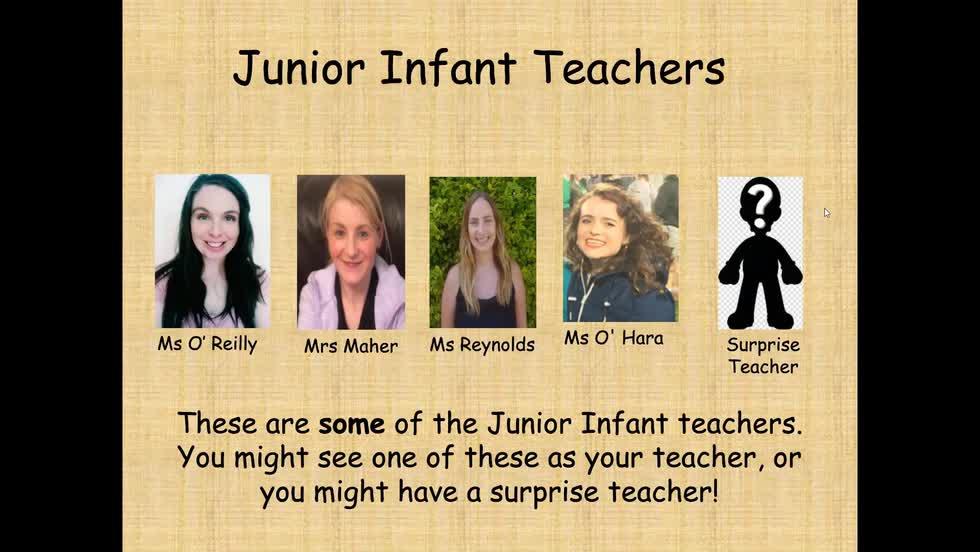 Junior Infant Transition Booklet