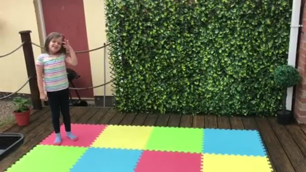 Emily's cartwheels