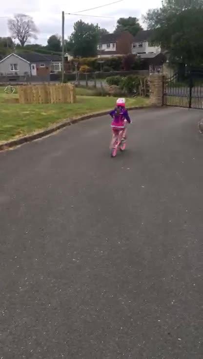 Emily's bike control