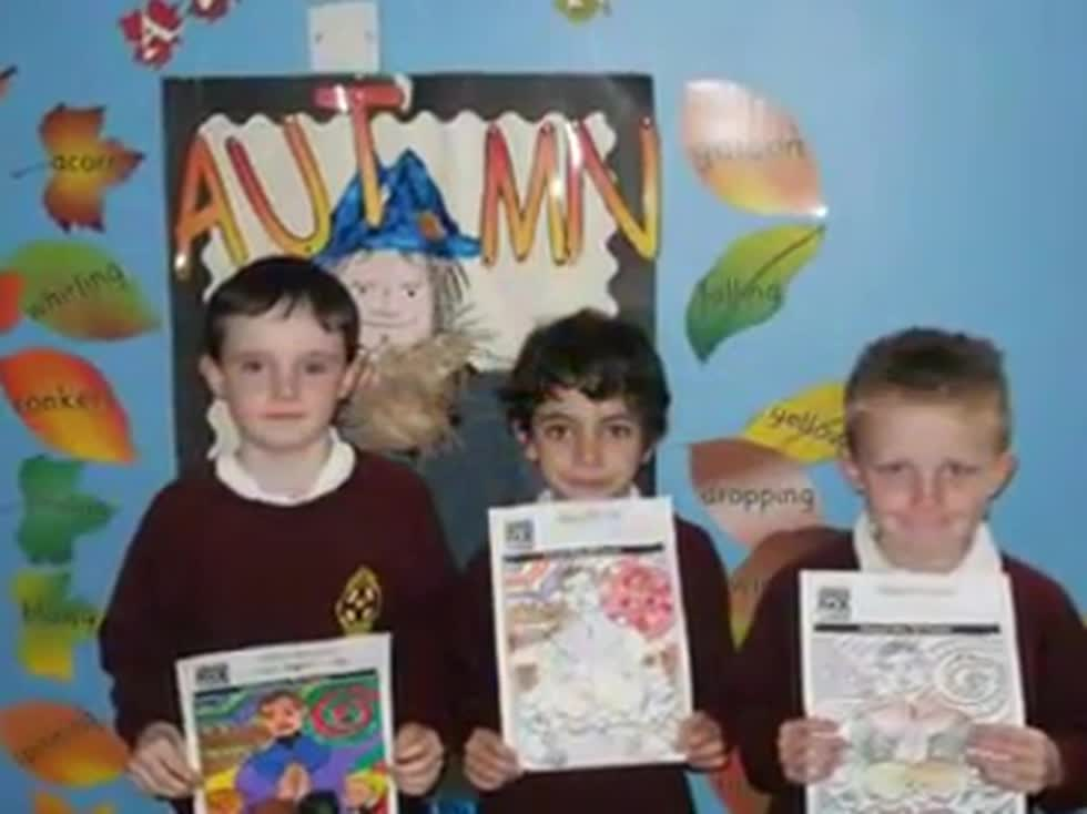 P3 Mrs. Mackle - Term 1 Show