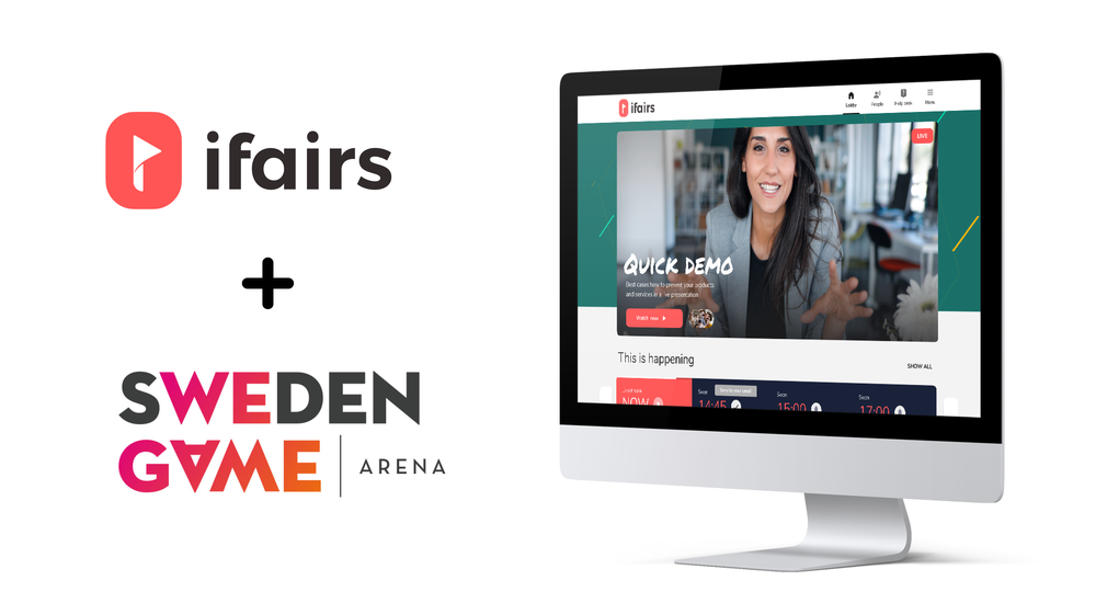 Sweden Game Arena collaborates with virtual platform ifairs