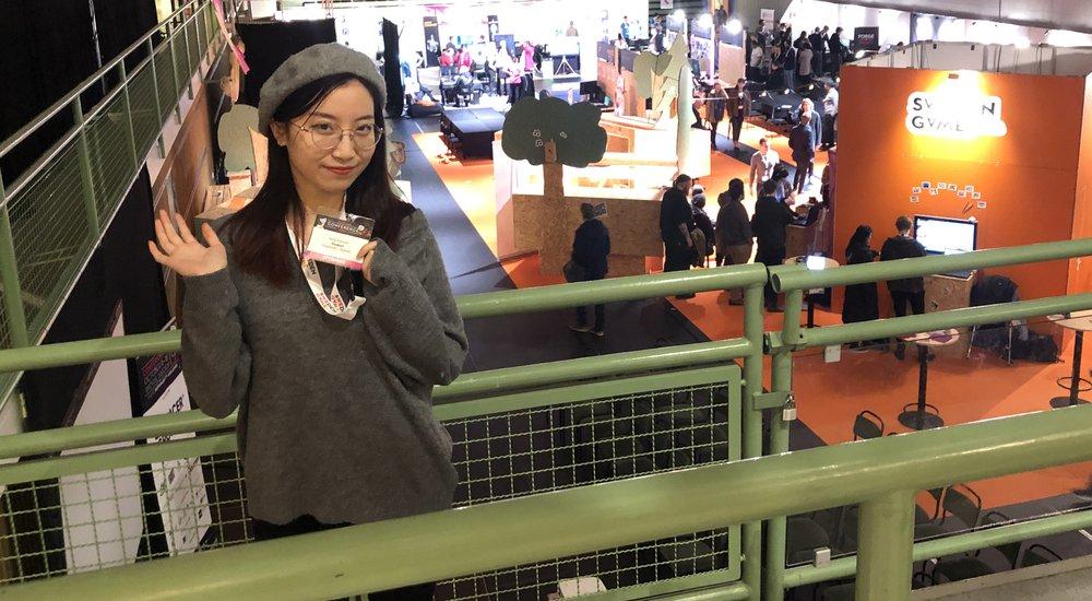 Shanghai student back in Skövde for the third time