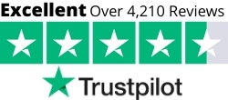 Trustpilot rating badge