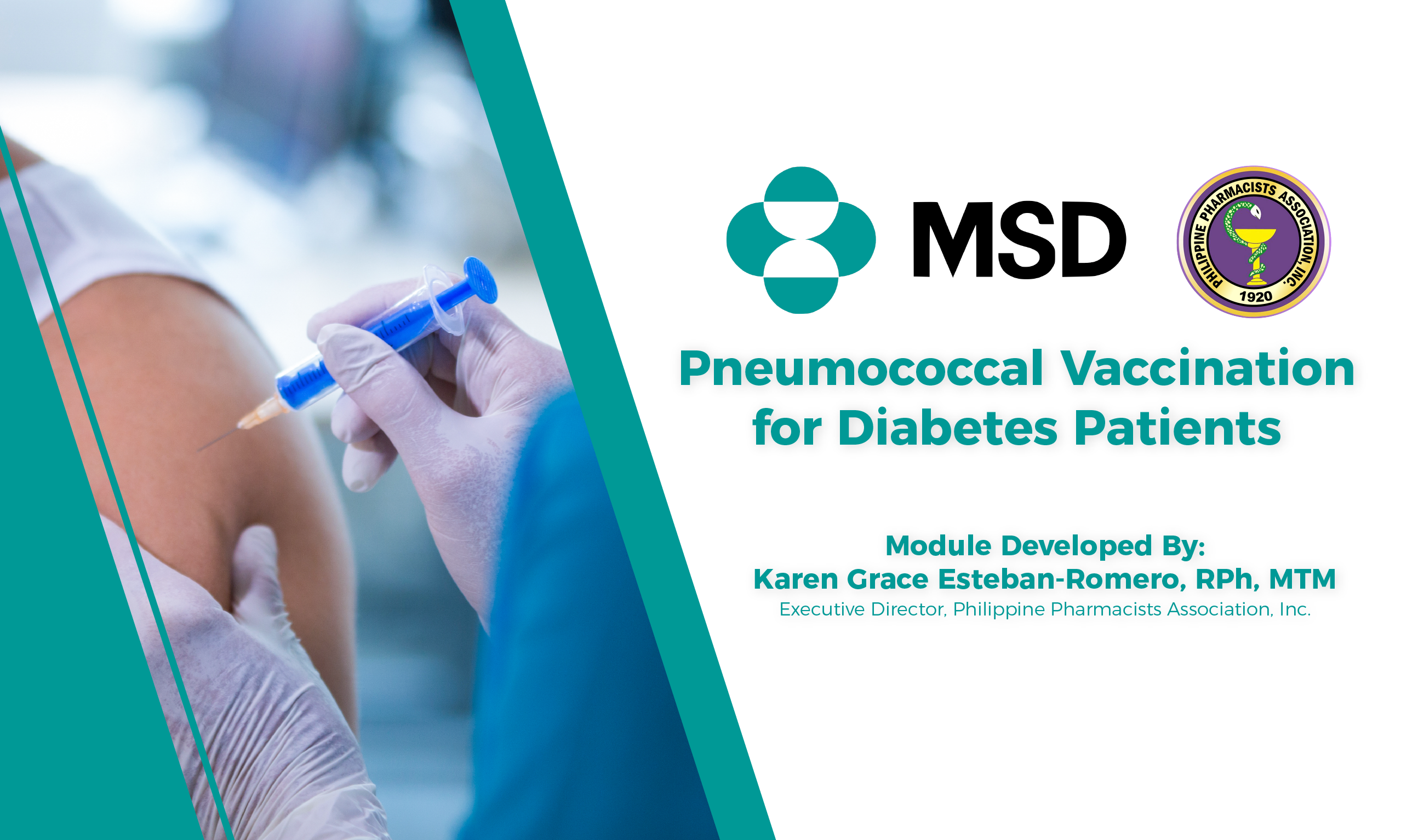 Pneumococcal Vaccination for Diabetes Patients