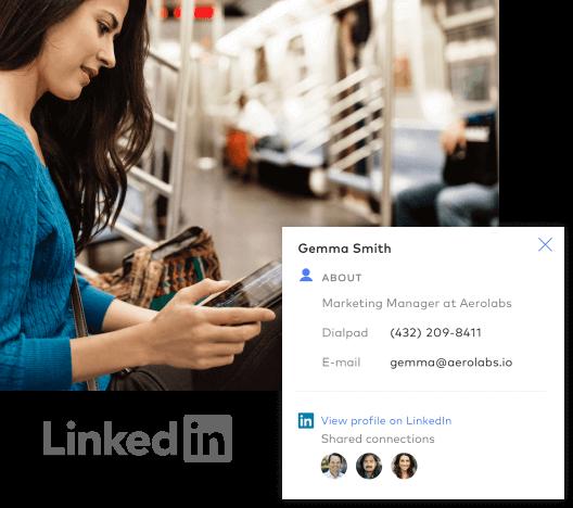 Dialpad and LinkedIn Integration