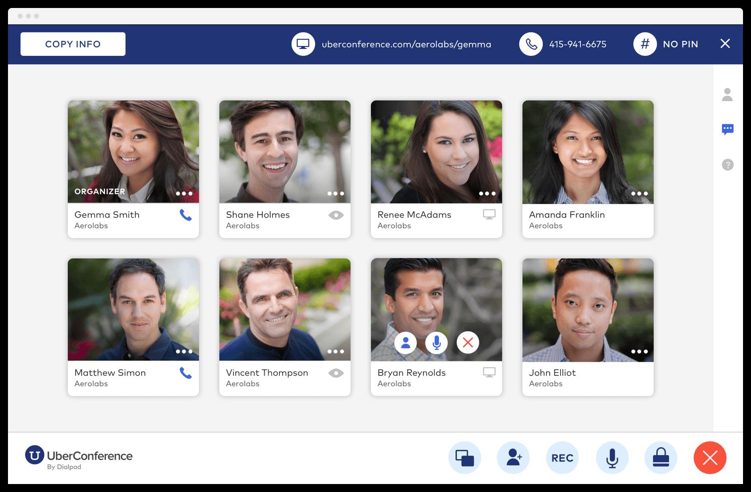 UberConference Free Online Meetings
