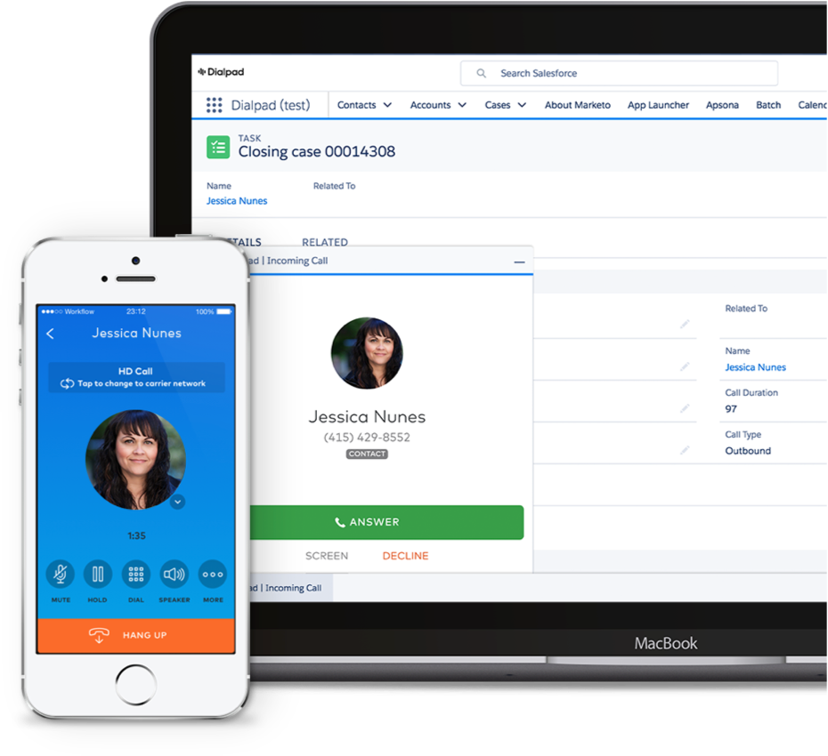 Dialpad and Salesforce Integration