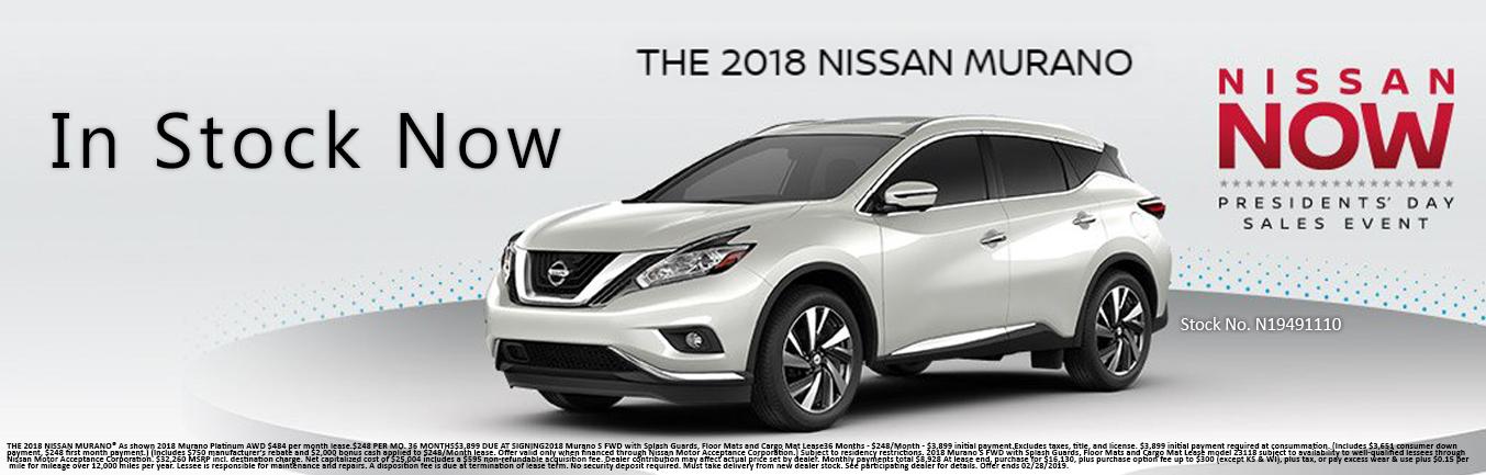 Nissan Murano In Stock Now