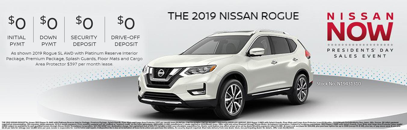 Nissan Rogue Incentive