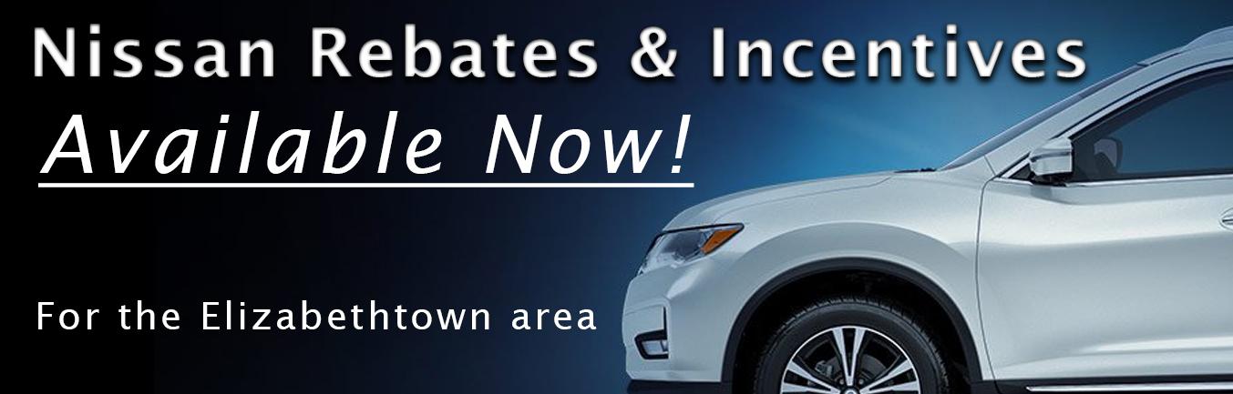 Nissan Rebates and Incentives