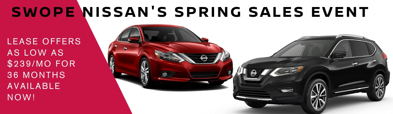Swope Nissan's Spring Sales Event