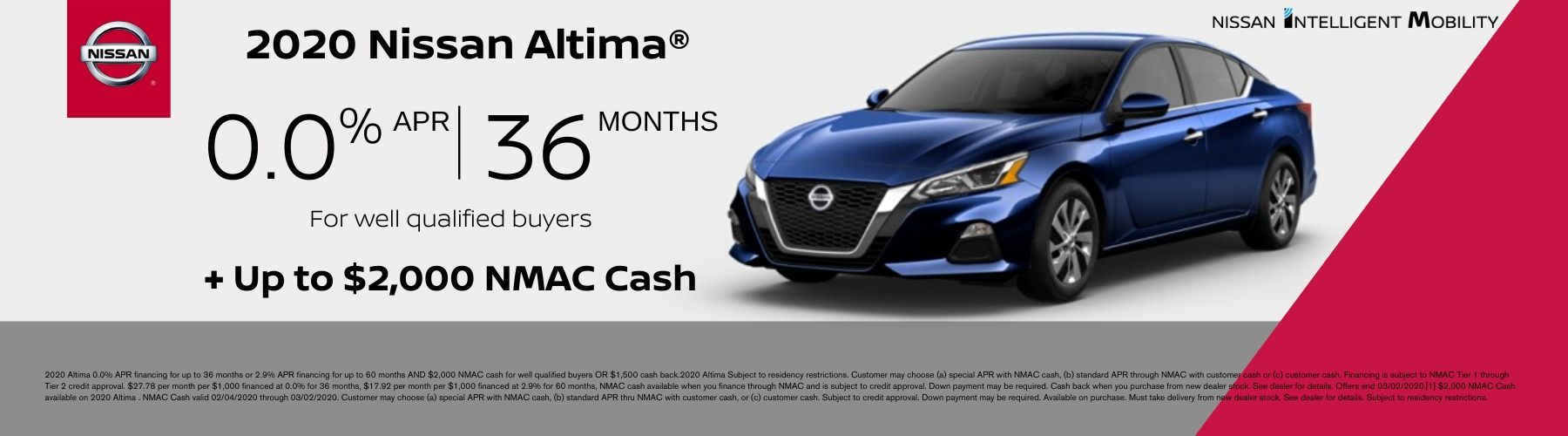 Altima Offer January