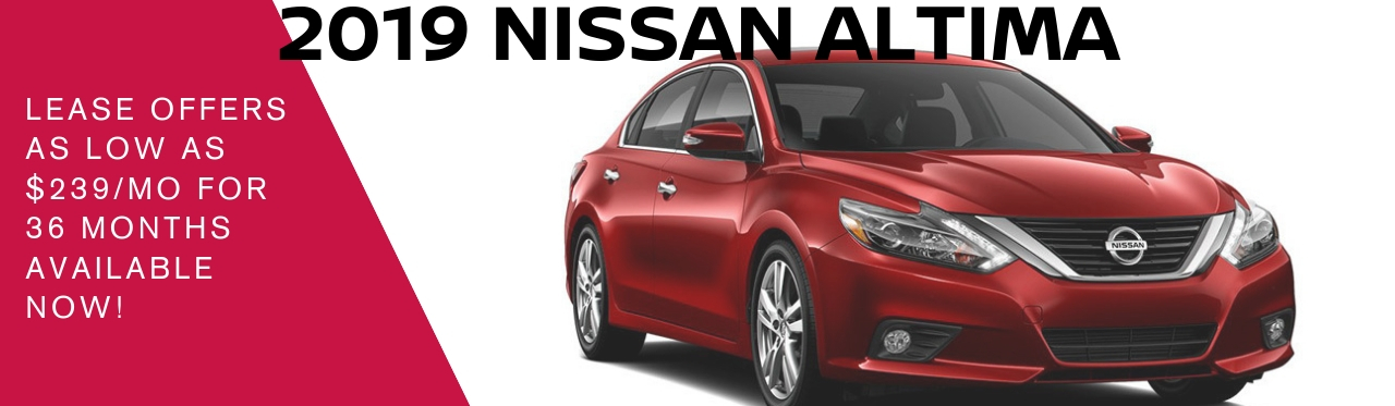 2019 Nissan Altima Offer