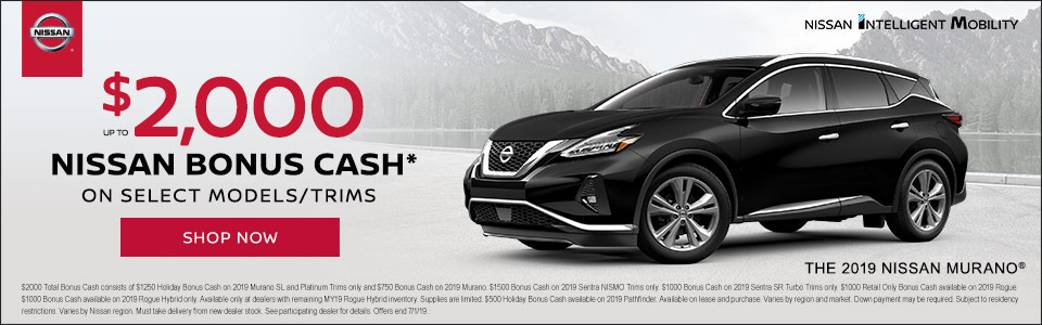 June Nissan Bonus Cash