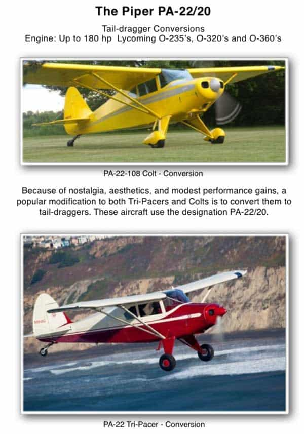 PA-22/20 Conversion – Short Wing Piper Club