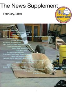 February 2019 News supplement