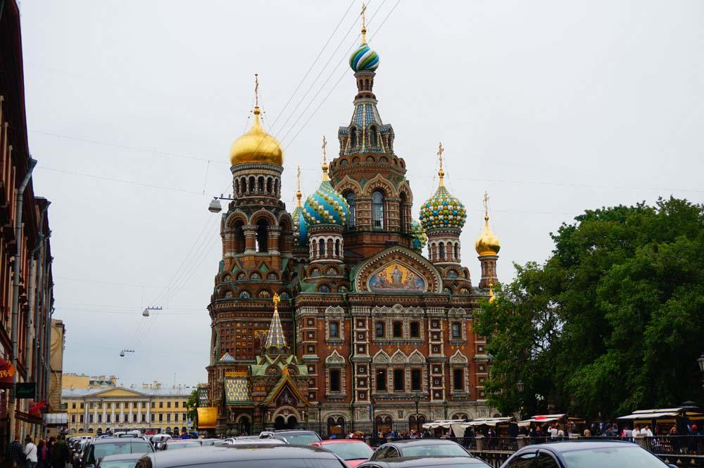 피의 성당. 러시아에는 피에 연관된 건물들이 왜이리 많은 건가.
