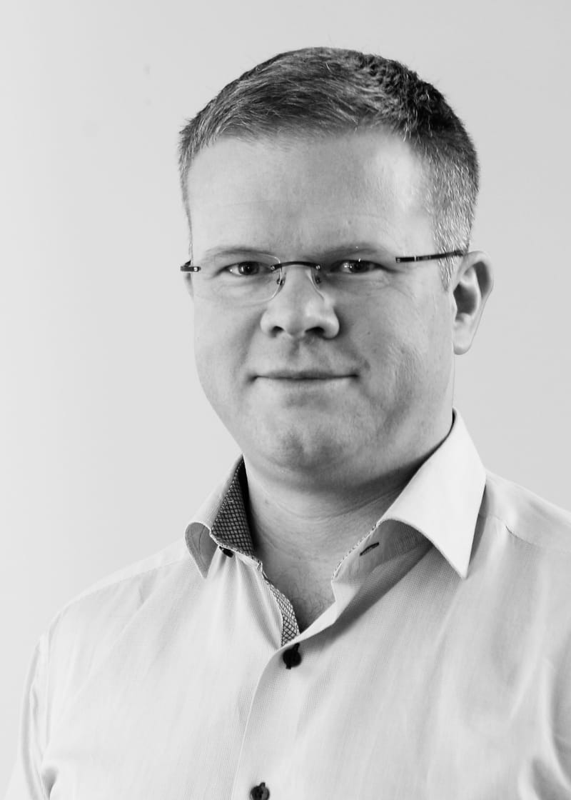 Portrait of Dagfinn Berge.