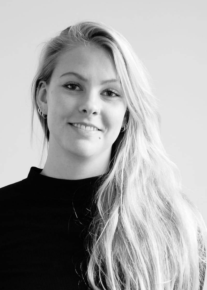 Portrait of Anna Michaelsen.