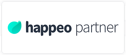 The Cloud People partner badge Happeo