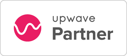 Symfoni Next partner badge Upwave