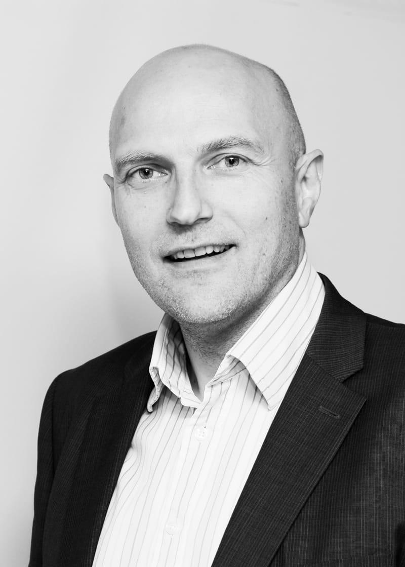 Portrait of Henrik Berge Mortensen.