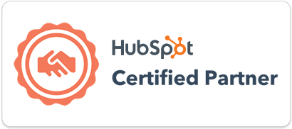 The Cloud People partner badge HubSpot.