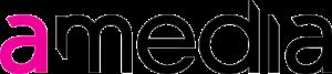 Amedia Logo.