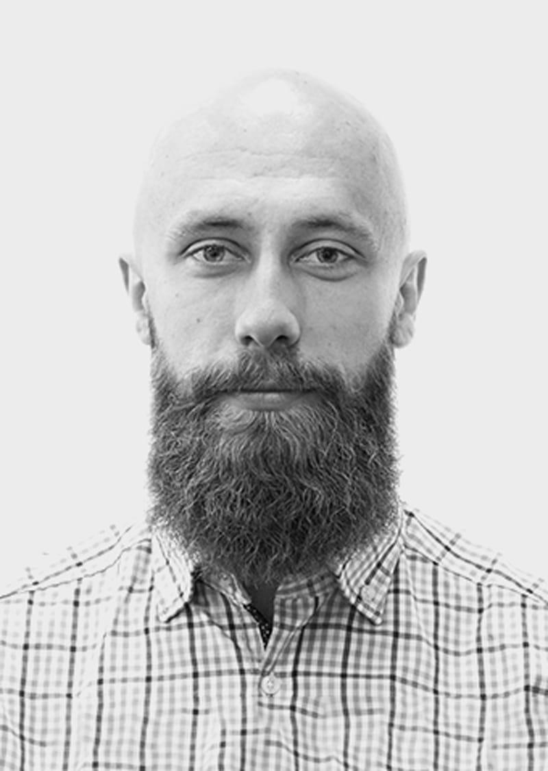Portrait of Tomasz Kaczmarczyk.