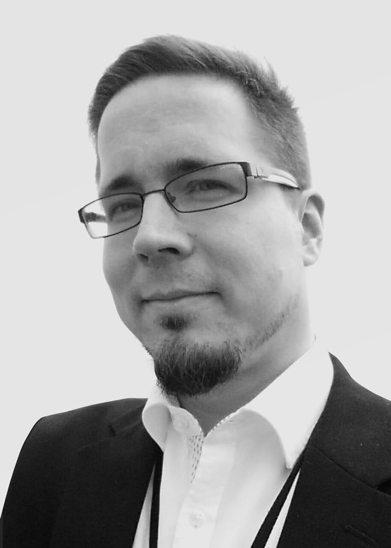 Portrait of Jussi Valkonen.