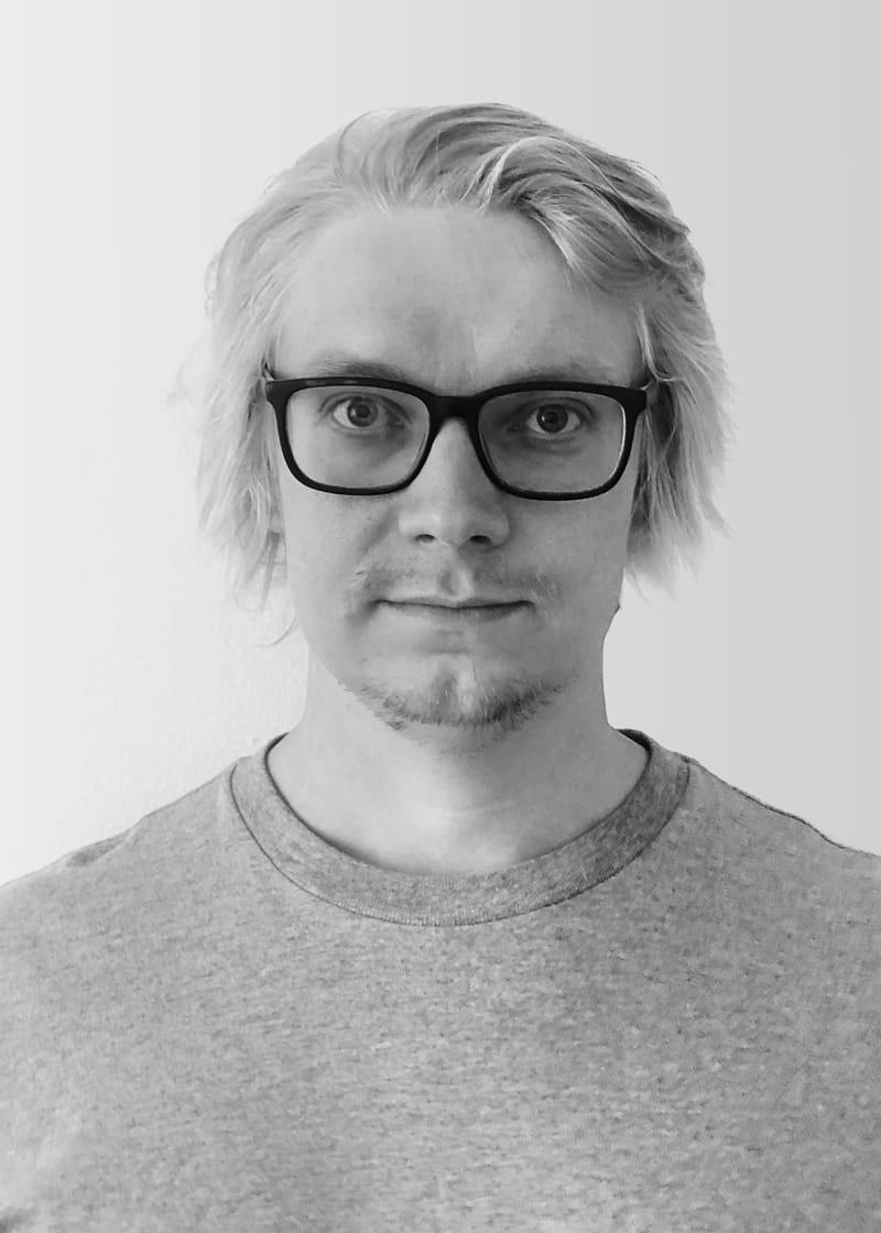 Portrait of Mikko Kapulainen.