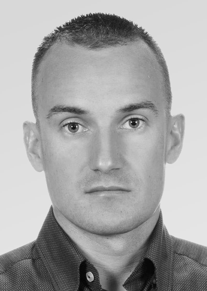 Portrait of Michal Brzezinski.