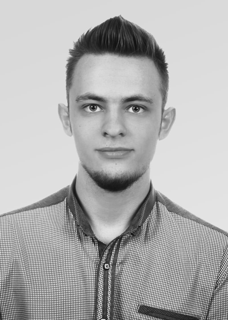 Portrait of Michal Janocha.