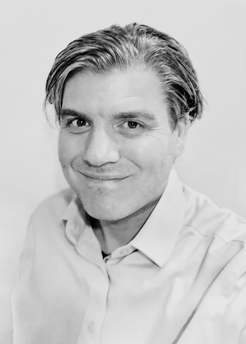 Portrait of Kjell Ringstrand.